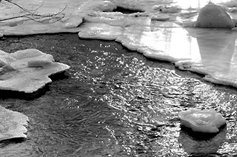 Corinth, Maine - Ice Flow